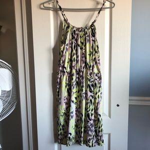 Dresses & Skirts - ✨3 for $40✨Vera Moda neon yellow/pink halter dress